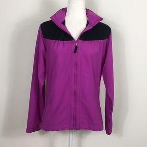 Nike Golf Purple and Black Zip Up Jacket
